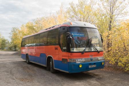 Туристический автобус KIA GRANDBIRD 581