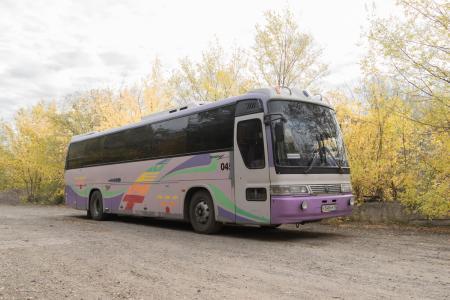 Туристический автобус KIA GRANDBIRD 548