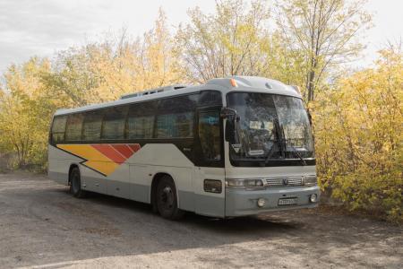 Туристический автобус KIA GRANDBIRD 731